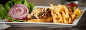 Fresh Black n Bleu Mahi Sandwich